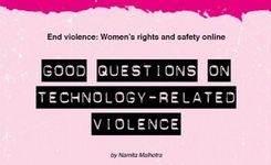 Women's Rights & Safety Online: End Violence