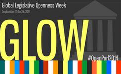 Global Legislative Openness Week (GLOW)