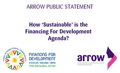 "How ""Sustainable"" Is the Financing for Development Agenda? - ARROW"