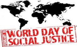 Statement marking the world day of social justice – Friday, 20 February 2015