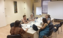 Focus groups with women victims of domestic violence