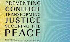 2016 = 16th Anniversary of UN Security Council Resolution 1325 - Global Study on Implementation: Preventing Conflict. Transforming Justice, Securing the Peace