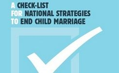 A Check-List for National Strategies to End Child Marriage