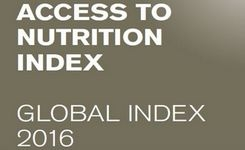 Access to Nutrition Index 2016 - Global Index Report