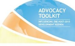 Influencing the post-2015 development agenda - advocacy toolkit