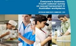 Australia - National Survey on Sexual Harassment in Workplaces - Widespread & Increased