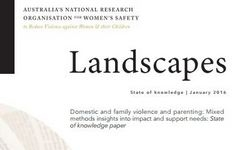 Australia - Domestic & Family Violence & Parenting: Mixed Methods Insights into Impact & Support Needs – Research