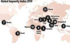 CPJ's 2019 Global Impunity Index Spotlights Countries  Where  Journalists Are Slain & Their Killers Go Free