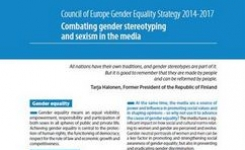 Combating Gender Stereotyping & Sexism in the Media - Council of Europe
