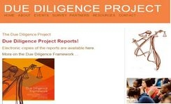Due Diligence Framework: A Tool to Gauge Political Will & Public Will to Eliminate Violence Against Women