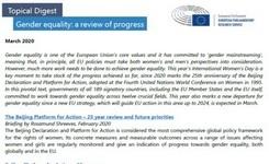 EU - Gender Equality: A Review of Progress - European Union