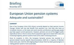 EU Pension Systems - Are They Adequate & Sustainable? For EU WOMEN?
