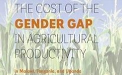 East Africa - The Cost of the Gender Gap in Agricultural Productivity – Report