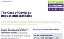 Economic Abuse Victims-Survivors: The Cost of COVID-19 - Impact & Statistics