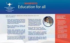 Education for Women & Girls - 5 IFUW Manifestos
