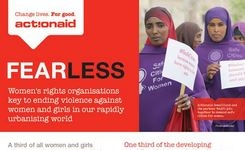 End Violence & Harassment of Women & Girls in Our Rapidly Urbanising World