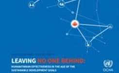 Humanitarian Effectiveness in the Age of the Sustainable Development Goals - Leaving No One Behind - Gender