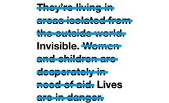 Invisible Lives: How the International Community Is Failing Syrian Women Refugees