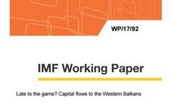 Late to the game? Capital flows to the Western Balkans