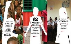 #LearningNeverStops UNESCO Campaign for Girls' Education Amidst COVID-19
