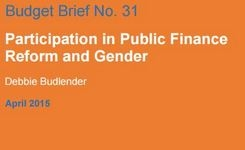 Participation in Public Finance Reform and Gender