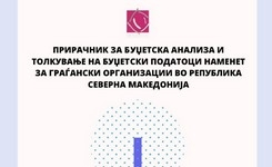 Прирачник за буџетска анализа и толкување на буџетски податоци наменет за граѓански организации во Република Северна Македонија