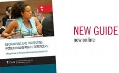 Recognising and Protecting Women Human Rights Defenders – Guide
