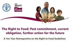Right to food: Past commitment, current obligation, future action – Women