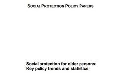 Social Protection for Older Persons - Risks for Older WOMEN of Poverty, Inadequate Social Protections. Discrimination