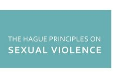 The Hague principles on sexual violence