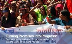 Turning Promises into Progress - Gender Equality & Rights for Women & Girls