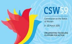 UN Commission on the Status of Women 59 – 2015