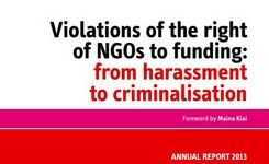 Violations of the right of ngo's to funding by restrictions imposed by states
