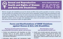 Women & Girls With Disabilities: Sexual & Reproductive Health & Rights