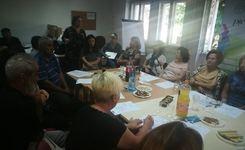 Средба за валидација на резултатите од теренското истражување и подготвената Скор карта во Струмица