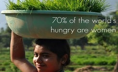 Women & Hunger - 70% of the World's Hungry Are Women: UN Special Rapporteur on the Right to Food - Report