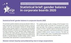 EU - Gender Balance in Corporate Boards 2020