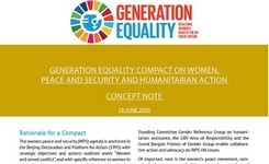 Generation Equality Compact on Women, Peace & Security & Humanitarian Action