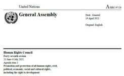 Rape as a Grave Violation & Manifestation of Violence Against Women & Girls - UN Special Rapporteur Report